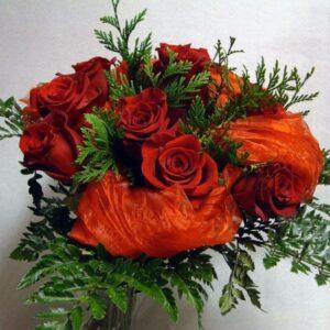 Docena Rosas Color Variado