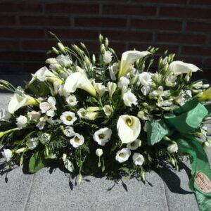 Palma Funeraria en Blanco