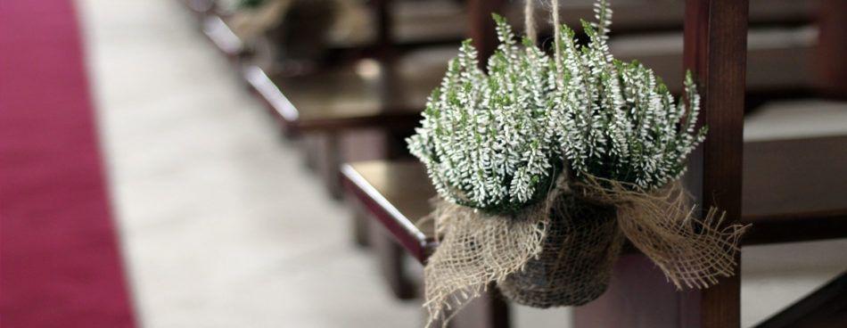 decoración floral iglesias