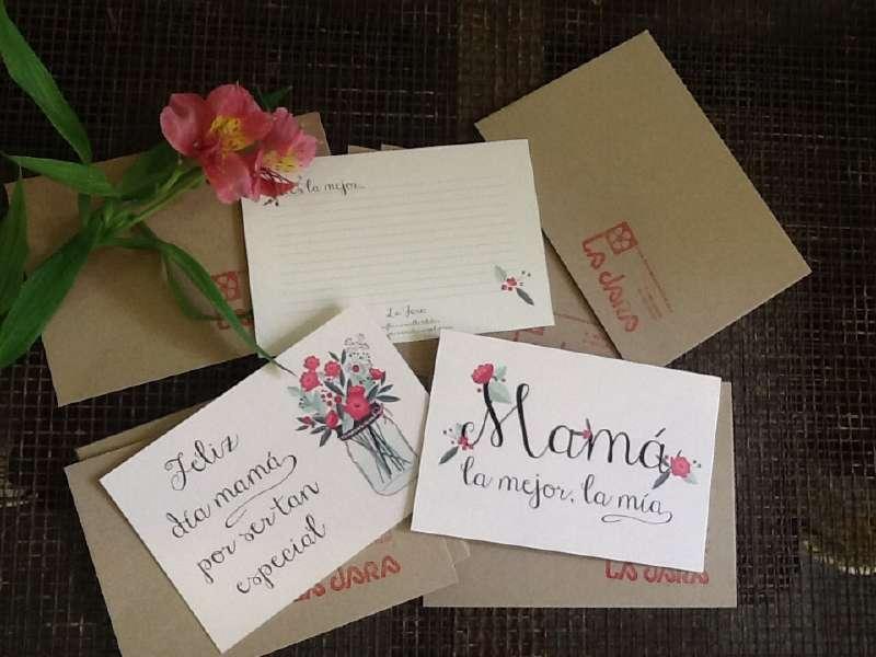 Tarjetas Día De La Madre Floristería La Jara